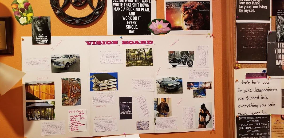 Vision Board, The Law of Attraction
